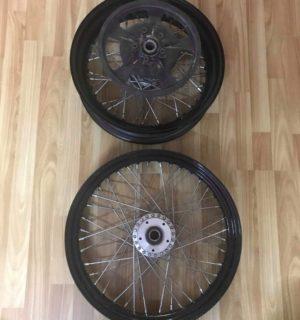 Custom 40 Spokes Wheels for Street 500/750