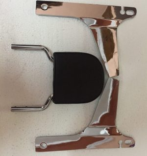 Chrome Classic Backrest H-D Dyna models