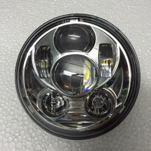Chrome 5-3/4″ 6 LED Head Light Multiple H-D Models fit