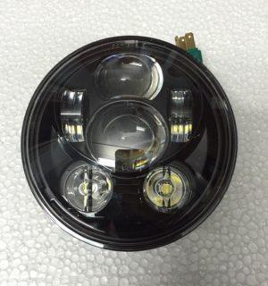 Black 5-3/4″ 6 LED Head Light Multiple H-D Models fit