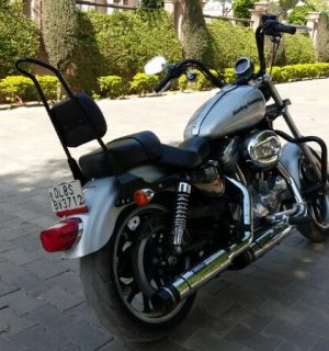 Black Sissy Bar H-D Sportster models